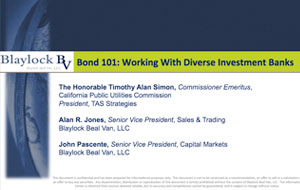Bond 101 Working With Diverse Investment Banks
