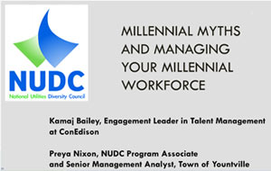 Millennial Myths and Managing Your Millennial Workforce