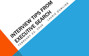Strategic Interviewing February 23, 2016