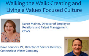 Walking the Walk: Creating and Living a Values-Focused Culture